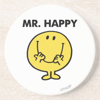 Mr. Happy | Giant Smiley Face Coaster