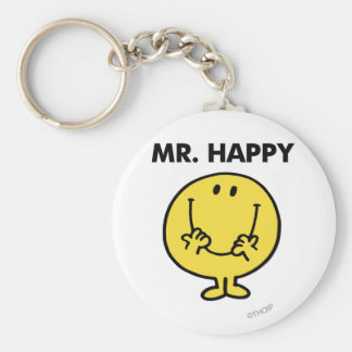 Mr. Happy   Giant Smiley Face Keychain