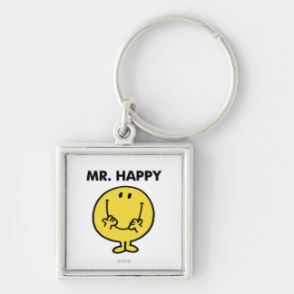 Mr. Happy | Giant Smiley Face Keychain