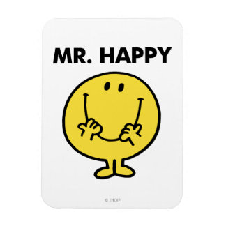 Mr. Happy | Giant Smiley Face Magnet