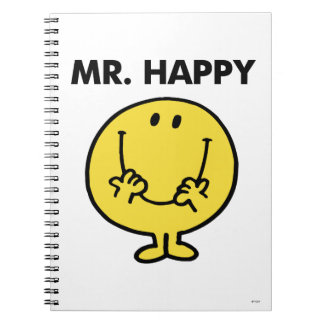 Mr. Happy | Giant Smiley Face Notebook