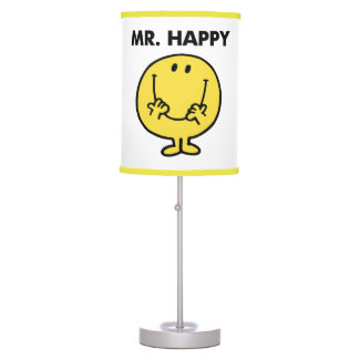 Mr. Happy | Giant Smiley Face Table Lamp