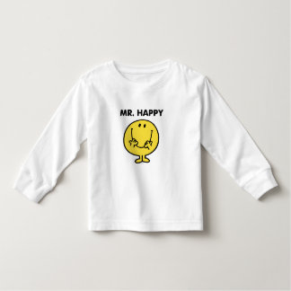 Mr. Happy | Giant Smiley Face Toddler T-shirt