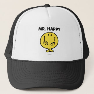 Mr. Happy | Giant Smiley Face Trucker Hat