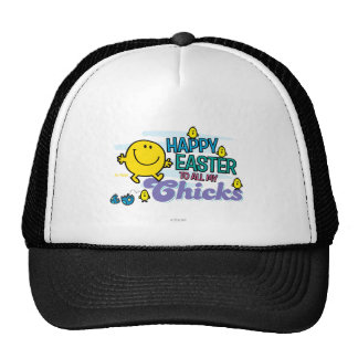 Mr. Happy | Happy Easter To All My Chicks Trucker Hat