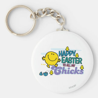 Mr. Happy | Happy Easter To All My Chicks Keychain