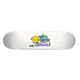 Mr. Happy | Happy Easter To All My Chicks Skateboard Deck