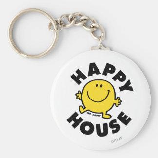 Mr. Happy   Happy House Keychain