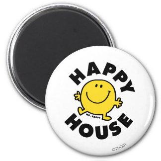 Mr. Happy | Happy House Magnet