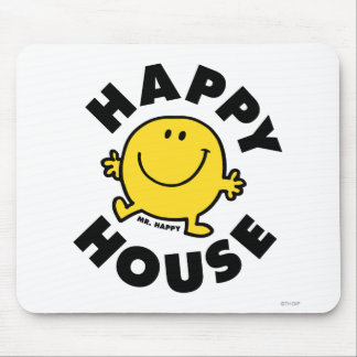 Mr. Happy | Happy House Mouse Pad