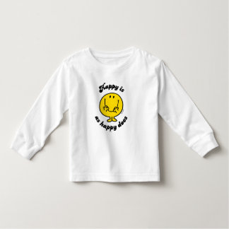 Mr. Happy | Happy Is As Happy Does Toddler T-shirt