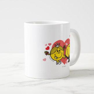 Mr. Happy & Little Miss Sunshine Wedding Giant Coffee Mug