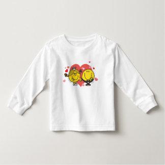 Mr. Happy & Little Miss Sunshine Wedding Toddler T-shirt