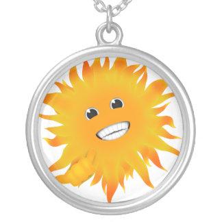 Mr Happy Sunshine - Shaka Sign - Hang Loose Custom Jewelry