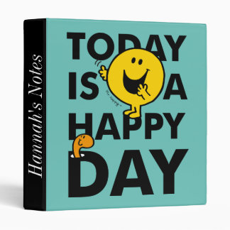 Mr. Happy | Today is a Happy Day Binder