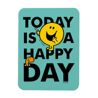 Mr. Happy | Today is a Happy Day Magnet