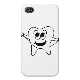 Mr. Happy Tooth iPhone 4 Cover