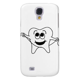 Mr. Happy Tooth Samsung Galaxy S4 Covers