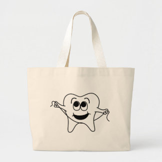 Mr. Happy Tooth Tote Bag