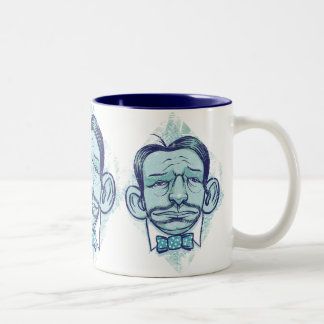 Mr.Happy Two-Tone Coffee Mug