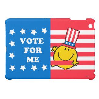 Mr. Happy Vote For Me Flag iPad Mini Cover