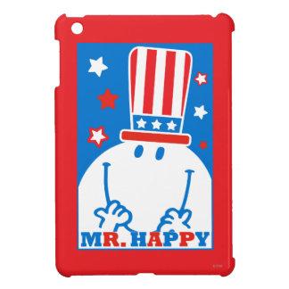 Mr. Happy With Patriotic Hat Case For The iPad Mini