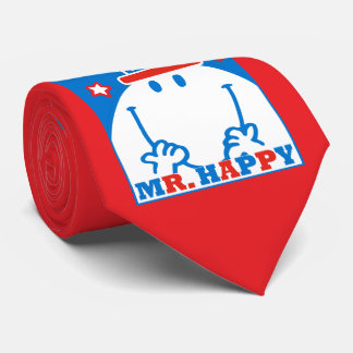 Mr. Happy With Patriotic Hat Neck Tie