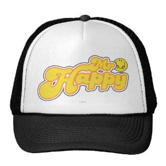 Mr. Happy | Yellow Lettering Trucker Hat