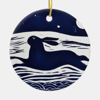 Mr Hare Ceramic Ornament