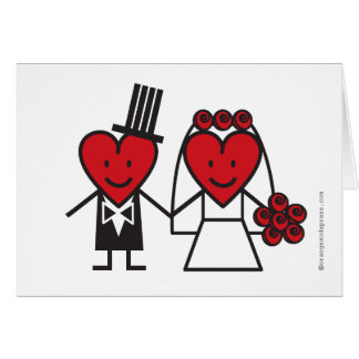 Mr Heart Blank Thank You or Congratulations Card