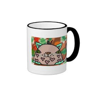 Mr Hearts II Coffee Mugs