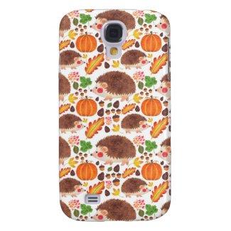 Mr. Hedgehog in Autumn Samsung Galaxy S4 Cases