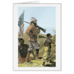 Mr. Henry Morton Stanley (1841-1904) Approaching L Greeting Card
