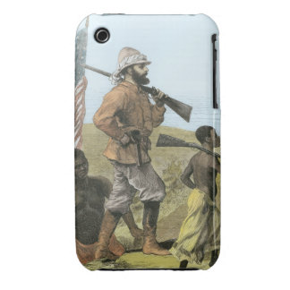 Mr. Henry Morton Stanley (1841-1904) Approaching L iPhone 3 Cover