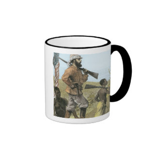 Mr. Henry Morton Stanley (1841-1904) Approaching L Coffee Mugs