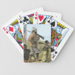 Mr. Henry Morton Stanley (1841-1904) Approaching L Bicycle Poker Cards