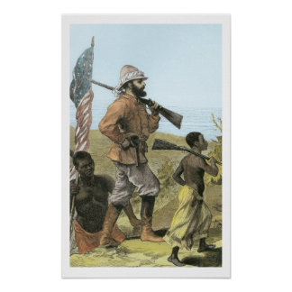 Mr. Henry Morton Stanley (1841-1904) Approaching L Poster