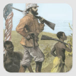Mr. Henry Morton Stanley (1841-1904) Approaching L Sticker