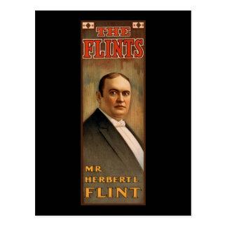Mr. Herbert L. Flint - The Flints Postcard
