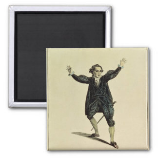 Mr Holman in the Character of Romeo, pub. 1784 2 Inch Square Magnet