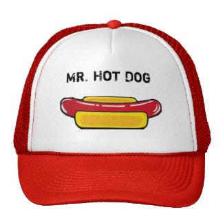 Mr. Hot Dog Cap Trucker Hat