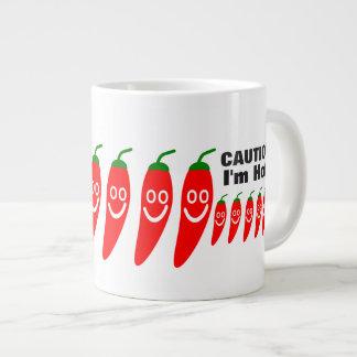 Mr. Hot Pepper - Caution, I'm hot! Large Coffee Mug