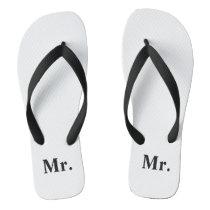Mr. Hubby Flip Flops