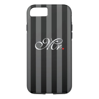 Mr. Husband Groom His Hers Newly Weds iPhone 8/7 Case