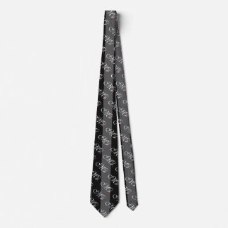 Mr. Husband Groom His Hers Newly Weds Neck Tie