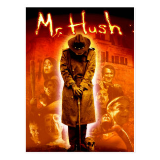 Mr. Hush Postcard