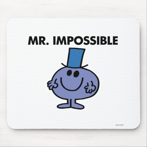 Mr Impossible Classic Mouse Pad