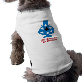 Mr. Impossible For President Dog Tshirt