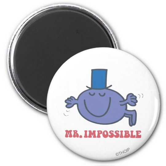 Mr. Impossible In Flight Magnet