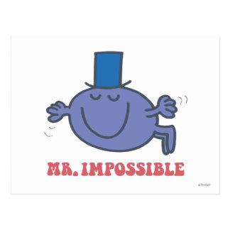 Mr. Impossible In Flight Postcard